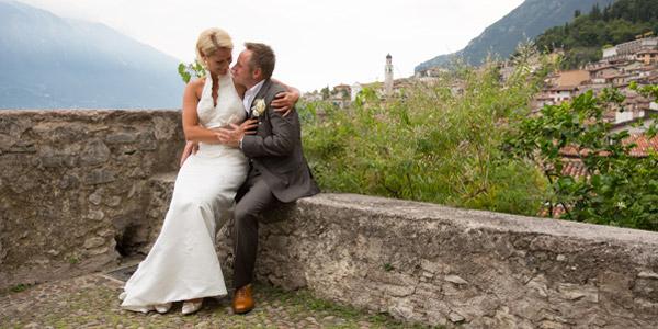 Der Hochzeitstag am Gardasee