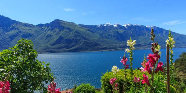 Die Seen in den Provinzen Brescia und Trento