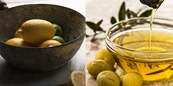 Zitronen und Öl vom Gardasee
