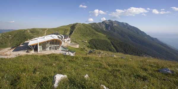 Mit der Seilbahn auf den Monte Baldo
