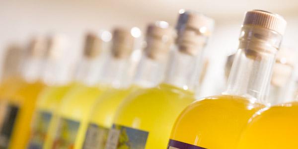 Limoncello, das erfrischende Getränk