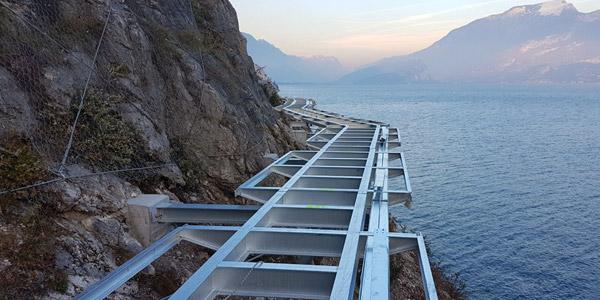Der neue Radweg am Gardasee